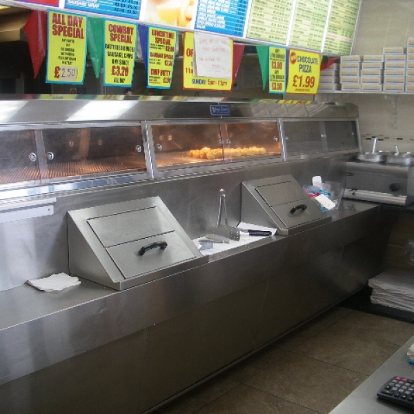 HIGH TURNOVER FISH CHIPS AND PIZZA TAKEAWAY IN TYNE AND WEAR